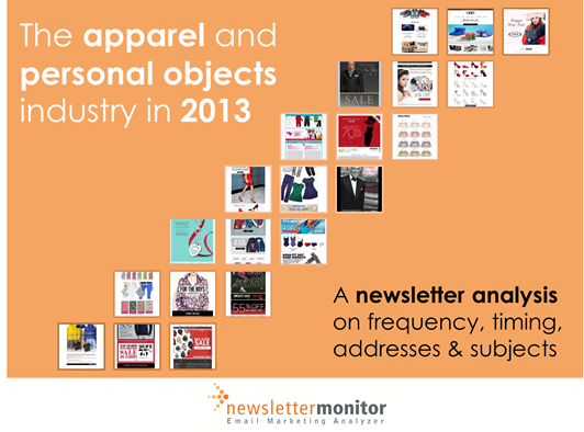 The apparel and personal objects industry in 2013